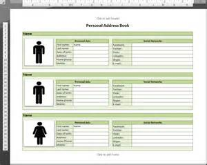 best photos of phone directory template excel excel