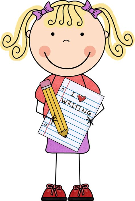 childrens writers artists pencil writing clip art clipart panda free clipart images