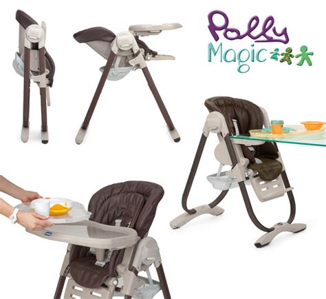 chicco polly magic 3 in 1 reclining high chair chicco chicco polly magic 3 in 1 high chair 0 months