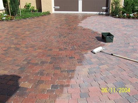 Sealer For Patio Pavers Look Age Landscaping