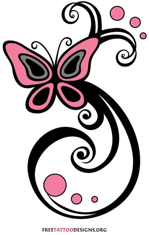 feminine tribal tattoo designs 60 butterfly tattoos feminine and tribal butterfly