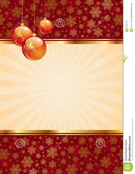 christmas wallpaper vertical background with christmas balls stock vector