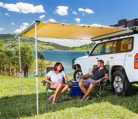 4wd side awning adventure kings premium 4wd side awning 2 x 2 5m waterproof canvas incl mo ebay