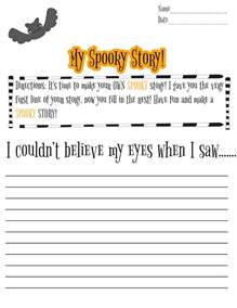 halloween writing activity 2nd grade festival collections