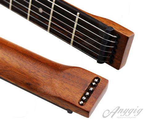 Anygig Age Protable Electric Guitar 6 Strings Right Traveler Guit anygig age portable sapele mahogany 6 string right