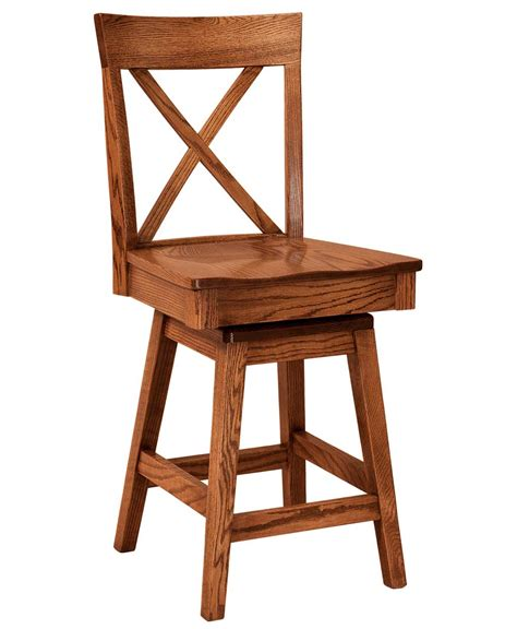 Amish Swivel Bar Stools by Frontier Bar Stool Amish Direct Furniture