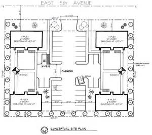 4 Plex Apartment Plans Story Garage Apartments Plans Images Frompo