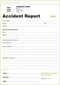 templates for accident report book and vehicle condition