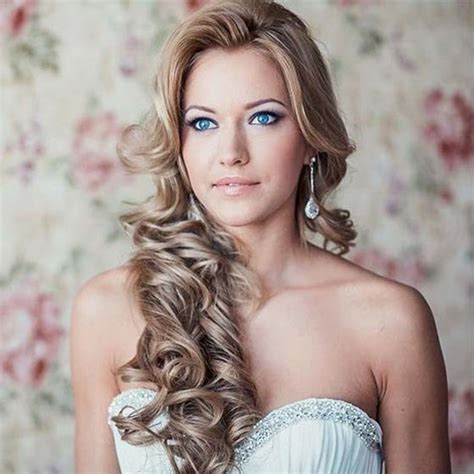Wedding Evening Hairstyles by Wedding And Evening Hairstyles In Kyiv On Moderate Prices