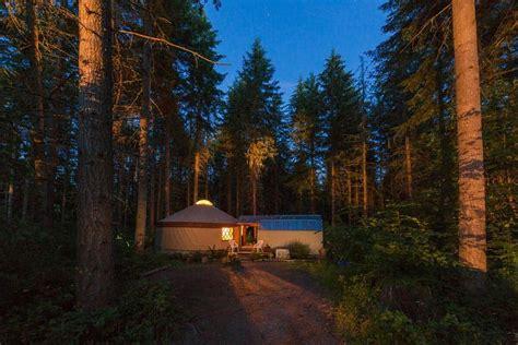 warm cozy yurt rentals  washington territory supply