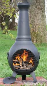 lowes chimineas chiminea outdoor fireplace at lowes