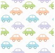 Fundo Infantil Com Carros Para Menino — Vetores De Stock