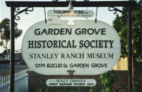 Garden Grove Ca Business License The Garden Grove Historical Society City Of Garden Grove
