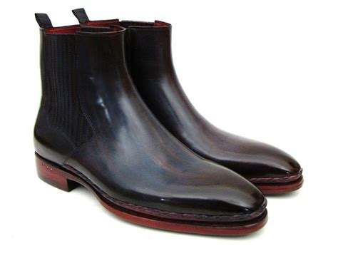 Jaket Chelsea Navy 4 paul parkman s chelsea boots navy bordeaux id bt54f11 paul parkman 174 handmade shoes