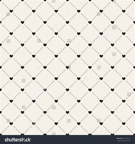 recurrence pattern en français seamless geometric pattern hearts vector repeating stock
