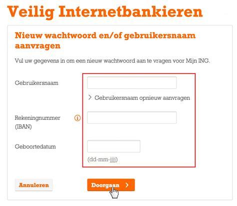 Internetbankieren Inloggen Minikeyword