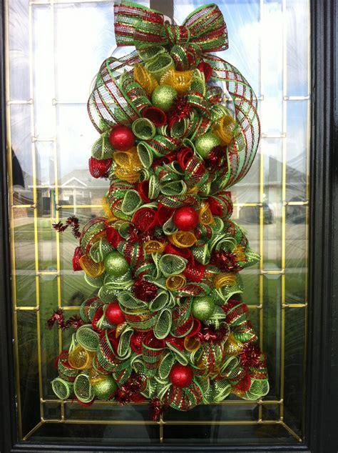 deco mesh christmas tree wreath photo albums perfect