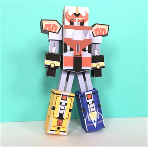 Megazord Papercraft - power rangers craft