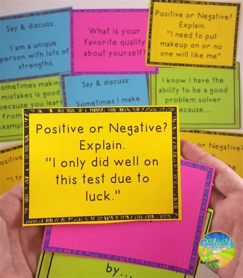Task Cards Template For Affirmations 701 best images about affirmations positive self talk on