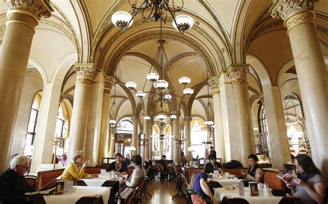 the cafes of vienna a guide cafe central travel leisure