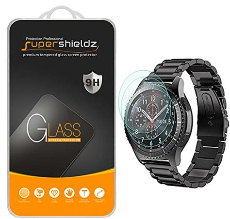 Tempered Glass Samsung Gear S3 Classic Frontier 3 pack supershieldz for samsung gear s3 frontier
