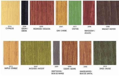 benjamin color chart 25 best ideas about wood stain color chart on wood stain interior wood stain
