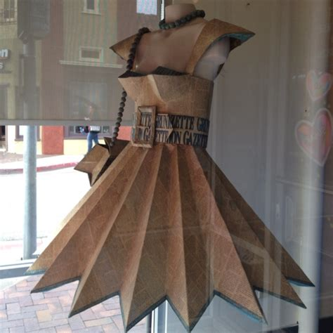 How To Make Clothes From Paper - 25 best ideas about newspaper dress on paper