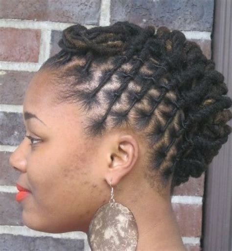 medium loc styles dreadlocks updo hairstyles for black women ideas hairstyle