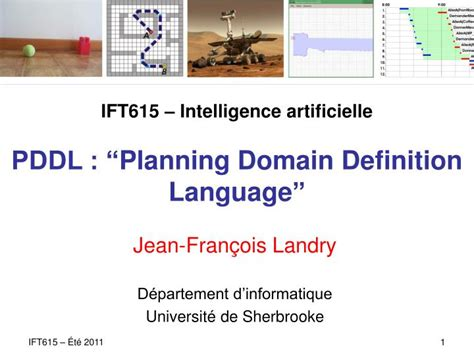 ift intelligence artificielle pddl planning