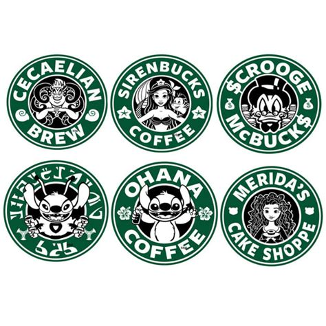 to do stickers items similar to disney personnages starbucks autocollant