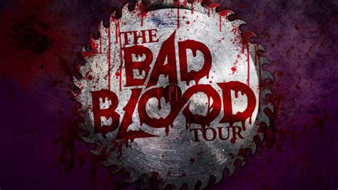 Blood On The Floor Tour Dates by Bad Blood Tour Featuring Blood On The Floor Plus