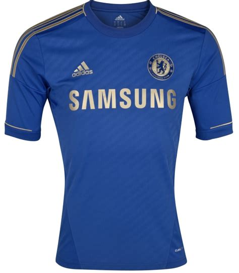 official new chelsea home kit 12 13 adidas gold chelsea
