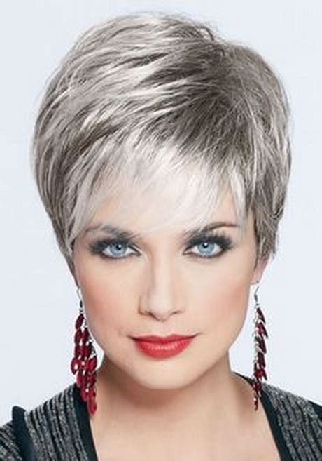 short hair styles for women over 50 gray hair short hair for grey haired women pictures 20 short hair
