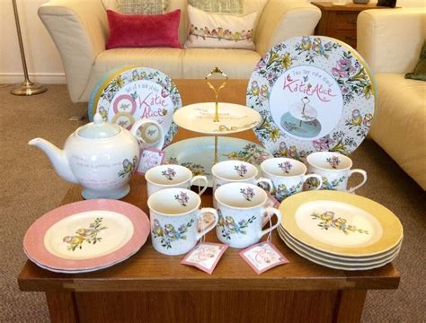 katie alice shabby chic afternoon tea set collection