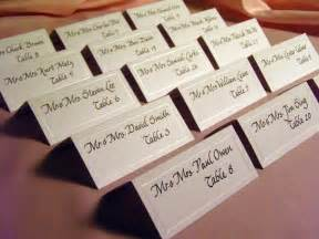wedding reception place cards wedding rehearsal