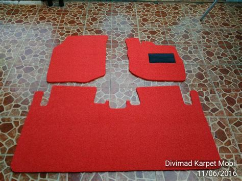 Karpet Jazz Rs jual karpet mobil honda jazz rs type premium divimad