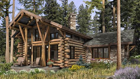 rustic log cabin plans the log home floor plan blogcollection of log home plans