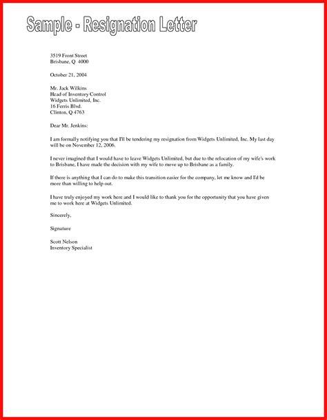Polite Resignation Letter by Polite Resignation Letter Apa Exle