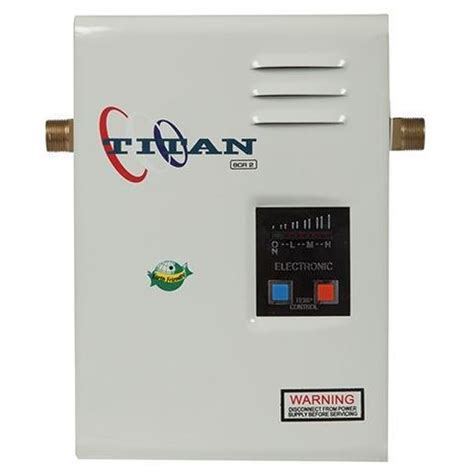 Apartment Size Tankless Water Heater Titan N100 Condo Apartment Tankless Water Heater 10kw
