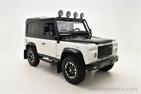 defender land rover 1997 1997 land rover defender 90 exotic and classic car