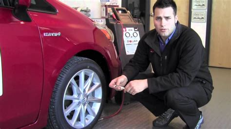 Toyota City Mn 2012 Toyota Prius V Tire Pressure Monitor System