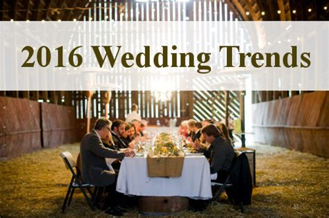 top 10 wedding trends for 2016 southbound top 10 wedding trends for 2016