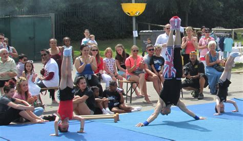 2014 Grange Park School Summer Fayre   Gymnastics in London