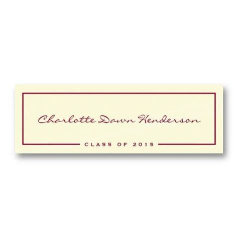 template for name cards for graduation announcements 20 best images about name cards for graduation
