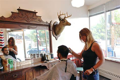 Kursi Pangkas Rambut Pria cara desain 18 inspirasi interior tempat pangkas rambut