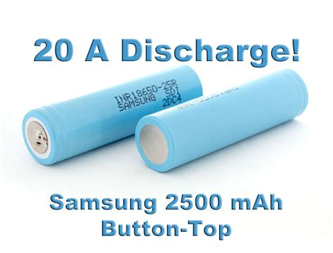 Promo Samsung Inr 18650 25r Li Ion Battery 2500mah 3 7v With Flat Top samsung inr18650 25r button top akkula fi