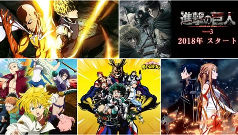 anime upcoming 2018 estrenos anime 2018 los mas esperados
