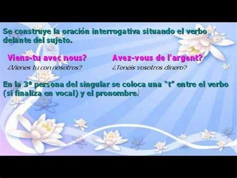 preguntas en negativo frances la interrogaci 243 n en franc 233 s youtube