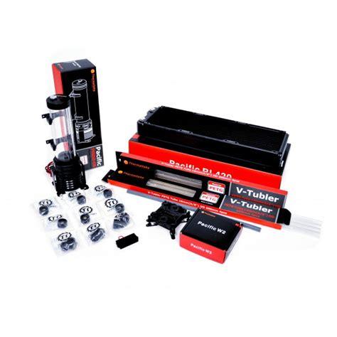 Thermaltake W2 Cpu Water Block thermaltake pacific riptide 420 petg liquid cooling starter kit 420mm