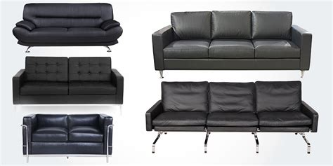 real leather sofas 15 best high quality genuine real leather sofa couches